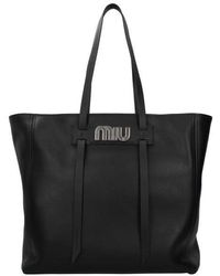 Miu Miu Shoulder Bags Women Black