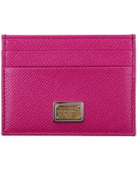 Dolce & Gabbana Document Holders Women Fuchsia - Purple
