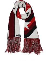 MSGM Scarves Acrylic - Red