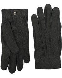 Alexander McQueen - Gloves Men Gray - Lyst
