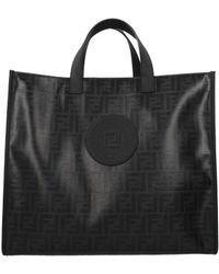 Fendi - Handbags Tote Tess Men Black - Lyst