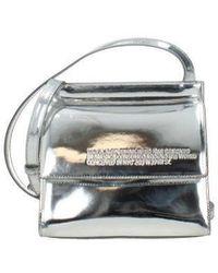 CALVIN KLEIN 205W39NYC Crossbody Bag 205w39nyc Women Silver - Multicolor