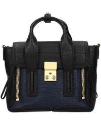 3.1 Phillip Lim Black Handbags Pashli