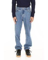 CALVIN KLEIN 205W39NYC Five Pockets Jeans - Blue