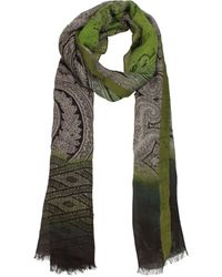 Etro Multicolour Foulard - Green