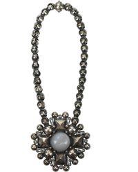 Bottega Veneta Silver Necklaces - Metallic