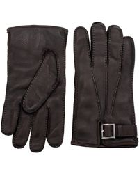 Prada Brown Gloves