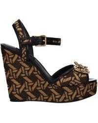 Dolce & Gabbana Dolce&gabbana Sandals Raffia - Natural