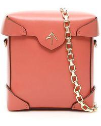 MANU Atelier Mini Pristine Bag With Chain - Multicolour