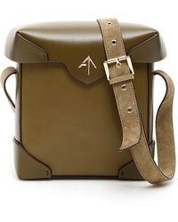 MANU Atelier Mini Pristine Bag - Green
