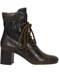 Miu Miu Brown Ankle Boots