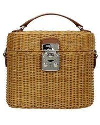 Miu Miu Handbags Woman Brown - Multicolour