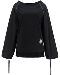1 MONCLER JW ANDERSON Moncler X Jwanderson Sweater Knitted - Black