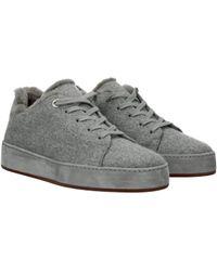 Loro Piana Sneakers Women Grey - Gray