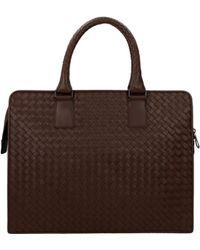Bottega Veneta Work Bags - Brown
