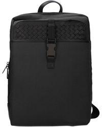 Bottega Veneta Backpack And Bumbags Fabric Anthracite - Gray