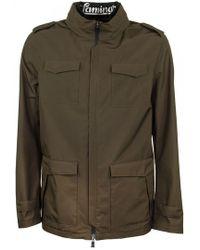 Herno Laminar Military Green Field Jacket