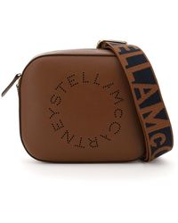 Stella McCartney - Camera Bag With Perforated Stella Logo - Lyst
