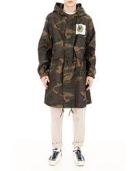 Kent & Curwen The Stone Roses Camouflage Parka - Multicolour
