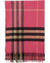 Burberry The Classic Check Cashmere Scarf - Multicolor
