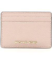 MICHAEL Michael Kors Jet Set Cardholder - Pink