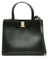 Ferragamo Savatore Ferragamo Vara Tote Bag - Only One Size / Black