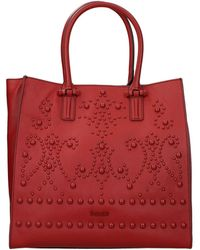Pollini Handbags Leather - Red