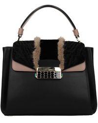 BVLGARI Handbags Leather - Black