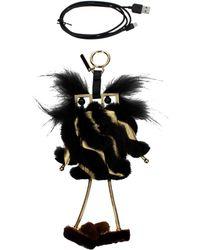 Fendi - Pendants Battery Charger Iphone 7 Plus Women Black - Lyst