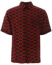 424 Short-sleeved Shirt - Red