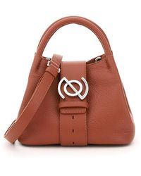 Zanellato Zoe Baby Leather Bag Daily Line - Brown