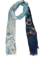 Etro Heavenly Foulard - Blue