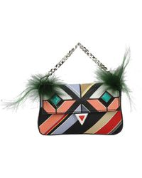 Fendi Handbags Micro Baguette Women Multicolor - Green