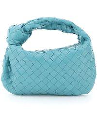 Bottega Veneta Mini Jodie Bag - Blue