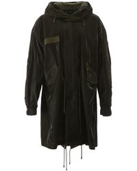 Mr & Mrs Italy Polo Open Front Parka - Green