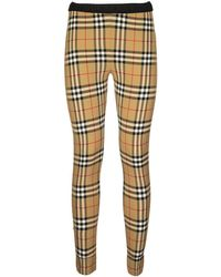Burberry Belvoir Vintage Check Leggings - Multicolour