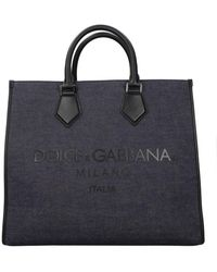 Dolce & Gabbana Handbags Men Blue