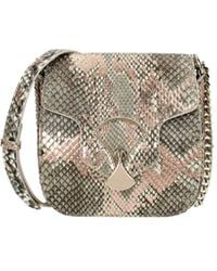 BVLGARI Crossbody Bag Diva's Dream Leather Python - Multicolor