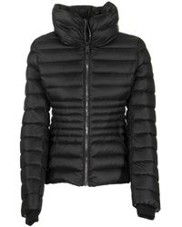 Colmar Place Down Jacket With Ring Collar - Black