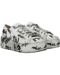 Miu Miu Sneakers Women White