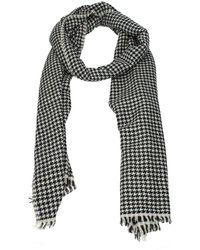 Saint Laurent Black Scarves