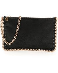 "Stella McCartney ""stella Mccartney Falabella Clutch"" - Black"