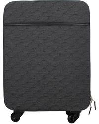 Stella McCartney Grey Wheeled Luggages