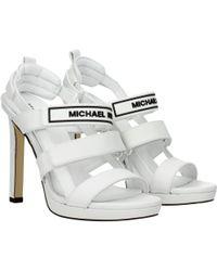 Michael Kors - Sandals Demi Women White - Lyst