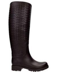 Bottega Veneta Boots Women Brown - Black