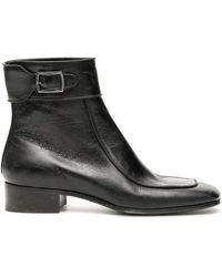 Saint Laurent Miles Boots - Black