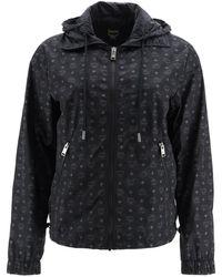 MCM Monogram Nylon Jacket - Black