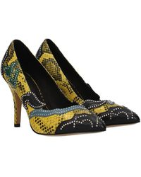 Isabel Marant Pumps Leather - Yellow