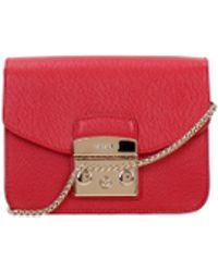 Furla - Crossbody Bag Metropolis Women Red - Lyst