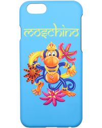 Moschino Heavenly Iphone Cover Iphone 6/6s - Blue